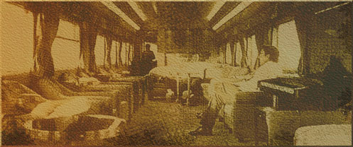 interior of carriage