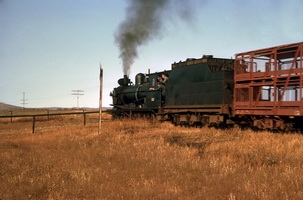 9.1963, Gordon Siding - Quorn to Hawker - T211 on goods train