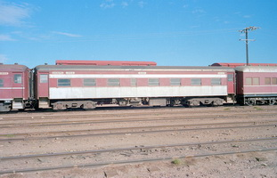15.5.1981,Port Augusta - part BE351 + SAR passenger car 753 + part BC329
