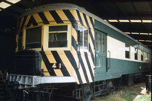 13<sup>th</sup> November 1985,Railcar 41 - Mile End Museum