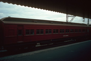 12.6.1986 <em>Coliban</em> car Spencer street station