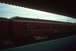 12.6.1986 Loddon car Spencer street station
