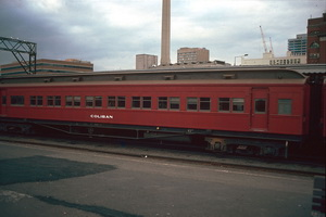 12.6.1986 Coliban car Spencer street station