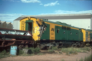 5.4.1987 Port Augusta GM34 smashed up side