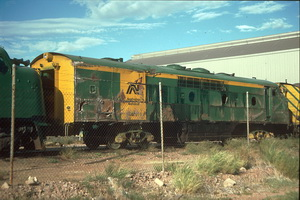 5.4.1987 Port Augusta GM31 smashed up side
