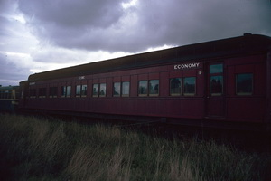 15<sup>th</sup> May 1987,Steamrail Newport sitting car 33BE