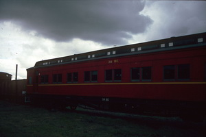 15<sup>th</sup> May 1987,Steamrail Newport sitting car 38BE