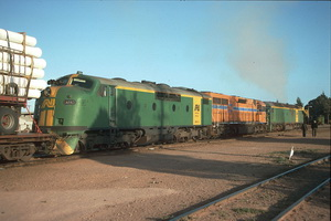 8.10.1988,Port Augusta locos GM43 + L252 + AL24