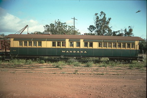 8<sup>th</sup> October 1988,Quorn Pichi Richi Railway <em>Wandana</em> car