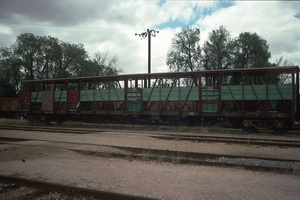 4<sup>th</sup> November 1988,Peterborough cattle wagons ACEY752