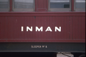 7.2.1990 <em>Inman</em> car exterior sign Dry creek