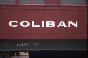 7.2.1990 <em>Coliban</em> car exterior sign Dry creek