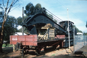 13<sup>th</sup> July 1990,Port Augusta Homestead Park - RSA&nbsp;191 + Steam Crane