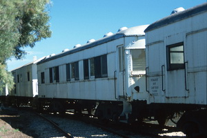 9<sup>th</sup> September 1990,Dry Creek perway sleepers PWS 8153 + PWS 14 + PWS 27