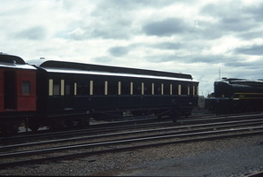 31.8.1991 Dry Creek <em>Inman</em> car in Green and Cream + loco 520