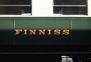 25.10.1991 <em>Finniss</em> car sign