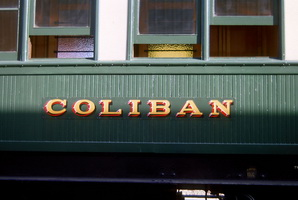 25.10.1991 <em>Coliban</em> car sign