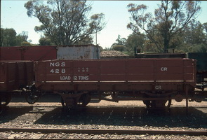 7.10.1996 Quorn - NGS 428 4-wheel open wagon