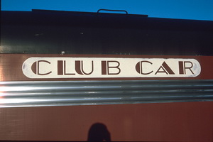 16.3.1997 Keswick - Overland - club car lettering