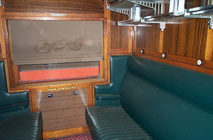606 passenger compartment
