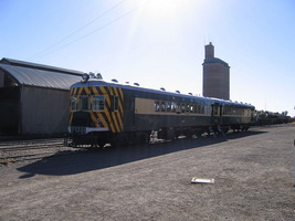 25<sup>th</sup> June 2006,Pichi Richi Railway - Quorn - Brill car 106 + trailer 305