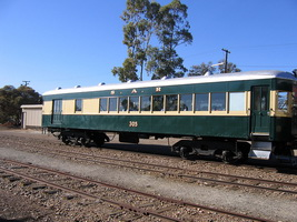 25<sup>th</sup> June 2006,Pichi Richi Railway - Quorn - Brill trailer car 305