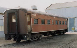 BE class car at Port Augusta on 19.8.1987