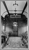 Interior of non-smoking compartment of AF 49 taken in February 1936 following air conditioning