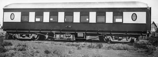 Exterior of AF 49 taken in February 1936 following air conditioning