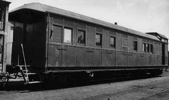 "Exterior view of ""NHRB"" brakevan"