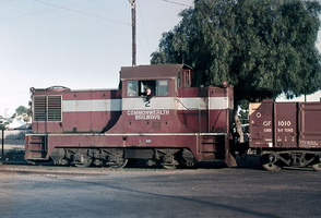 19.8.1969,Port Augusta - Commonwealth Railways Locomotive MDH2