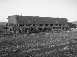 18.8.1969,Marree - Commonwealth Railways Wagon NTB597