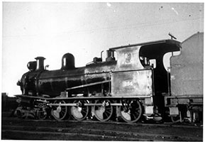 side view of loco SAR T254