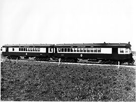 c.1936,railcar SAR brill 103 + trailer 303 - Centenary livery - Port Lincoln Division