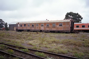 BRB Sleeper taken at WCR Ballarat East in 2003