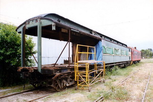 November 2001 Sleeping Car Angas at Wallaroo