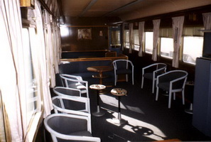 AFB137 lounge car interior 4.8.1997