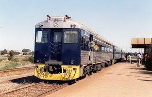 9.9.2001 Bluebird 254 at Whyalla
