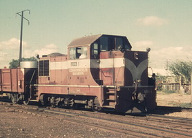 MDH1 shunting at Port Augusta, 23 March 1970