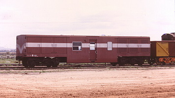 Low-level brakevan HL 336, taken at Stirling North on 20.08.1978