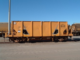 5.1.2005 AHLF1482 wagon, formerly AHTF ballast wagon
